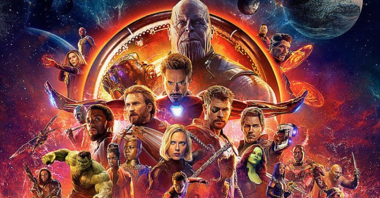 羅素兄弟執導的《復仇者聯盟 3:無限之戰》為 2018 年全球票房最高的電影,也是第一部總票房超過 20 億的超級英雄電影,在影史票房上名列第五。
