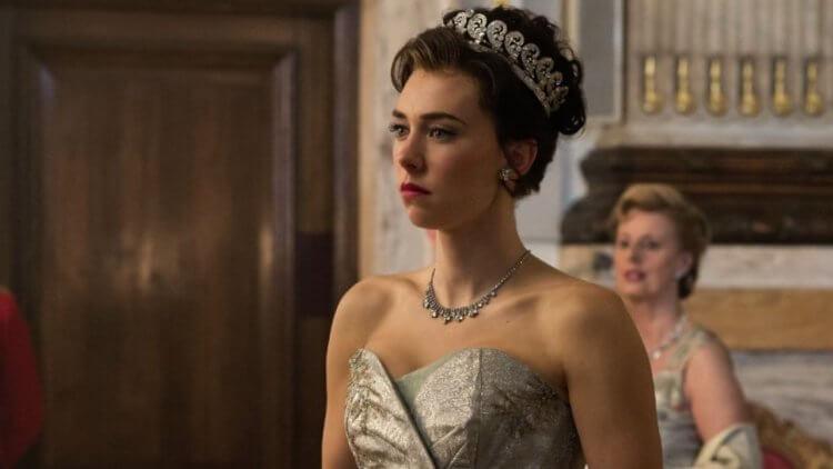 凡妮莎柯比在 Netflix 影集《王冠》中飾演的瑪格麗特公主。