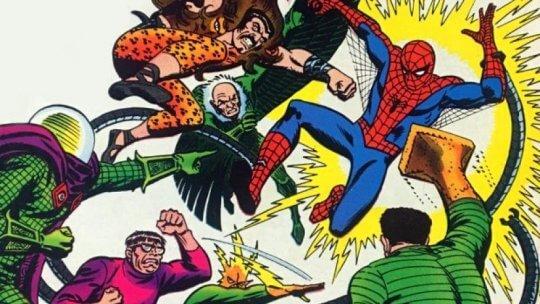 邪惡六人組與蜘蛛人