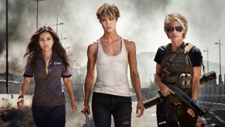 娜塔莉亞雷耶斯、麥坎西黛維斯以及琳達漢密爾頓三位女星演出《魔鬼終結者:黑暗宿命》的關鍵主角們。
