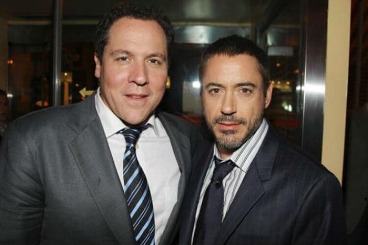 因漫威超級英雄電影《鋼鐵人》結下不解之緣的強法夫洛與小勞勃道尼。