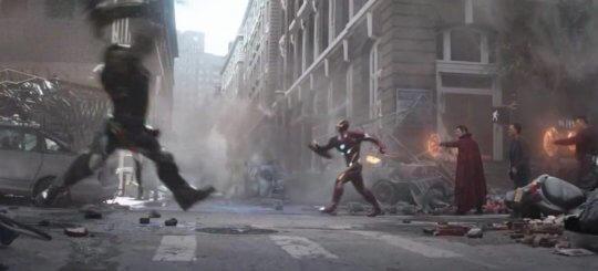 《復仇者聯盟3:無限之戰》(Avengers: Infinity War) 劇照。