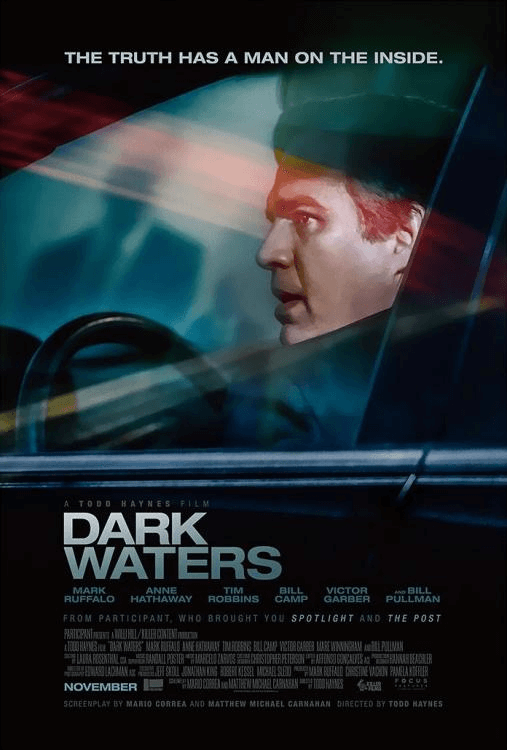 《Dark Waters》電影海報。
