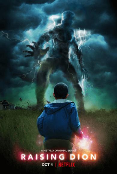 Netflix 漫改影集《超能男孩:萬能媽媽》(Raising Dion) 海報
