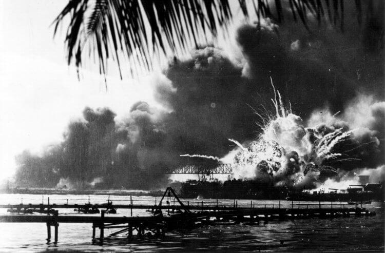 珍珠港事件的資料圖片