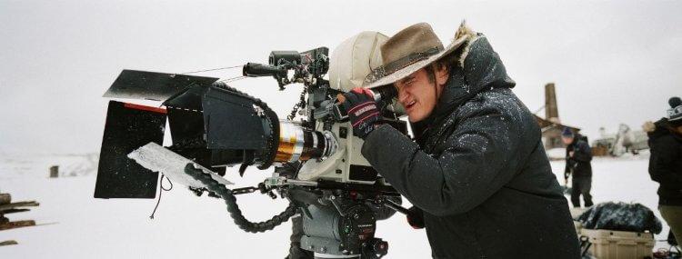昆汀塔倫提諾 (Quentin Tarantino) 在大雪山拍攝《八惡人》