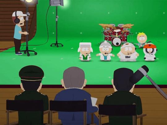 《南方公園》(South Park) :屎蛋和他的樂團