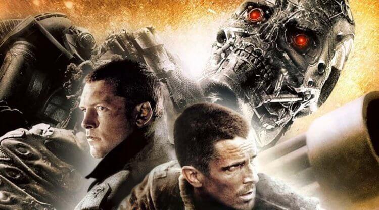 山姆沃辛頓 (Sam Worthington) 與克里斯汀貝爾 (Christian Bale) 主演的 2009 年電影《魔鬼終結者:未來救贖》(Terminator Salvation)。