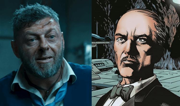 麥特李維斯執導的《 蝙蝠俠 》(The Batman) 布魯斯韋恩的管家阿福據傳將會由安迪瑟克斯飾演。