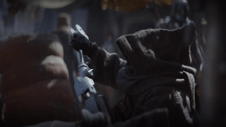 《曼達洛人》中也有《星際大戰四部曲:曙光乍現》後就開始出現的外星種族「賈瓦人」。