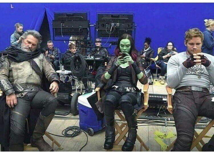 《星際異攻隊2》幕後花絮。