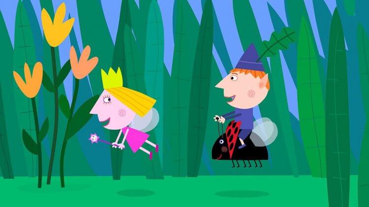 《Ben & Holly》動畫。