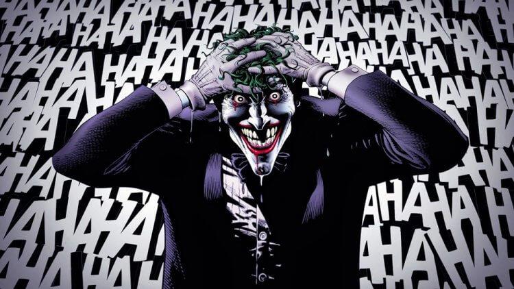 在DC漫畫中小丑的《殺人玩笑》
