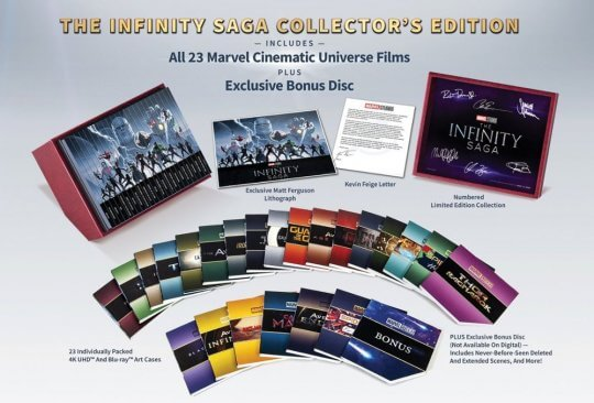 漫威宇宙《無限傳奇》限定版禮盒。