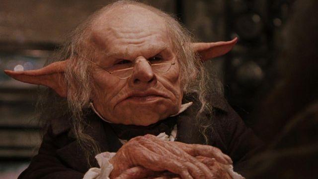 奇幻小說《哈利波特》系列《哈利波特》中登場的妖精:哥布林,牠們也喜歡發大財。
