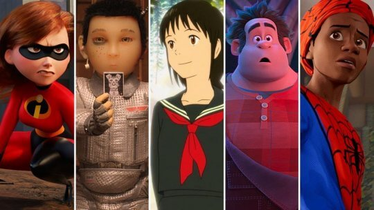 2019 奧斯卡最佳動畫片競賽名單。