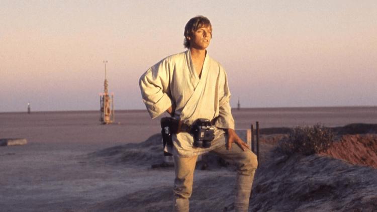 喬治盧卡斯《星際大戰四部曲:曙光乍現》馬克漢彌頓飾演的路克天行者。