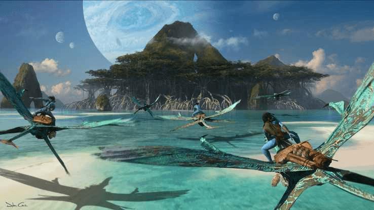 《阿凡達 2》(Avatar 2) 美術概念圖