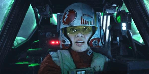潔西卡亨維克在《STAR WARS:原力覺醒》飾演的飛行員潔西帕瓦。