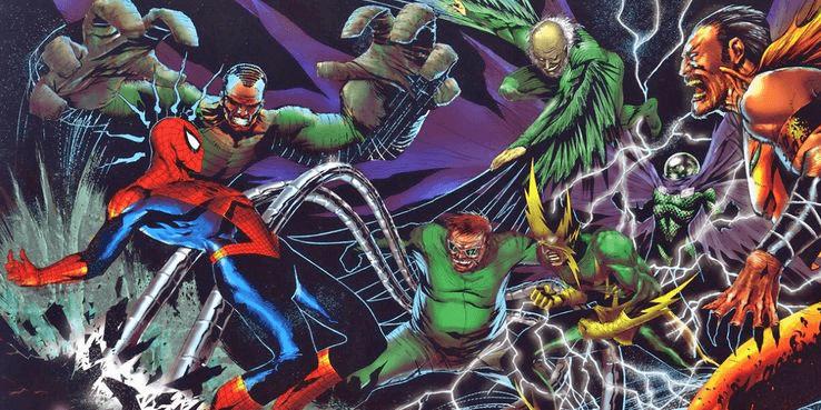 《蜘蛛人》漫畫中出現的初代邪惡六人組。