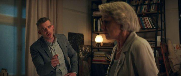 海倫米蘭在電影《大說謊家》飾演寡婦貝蒂麥雷許。