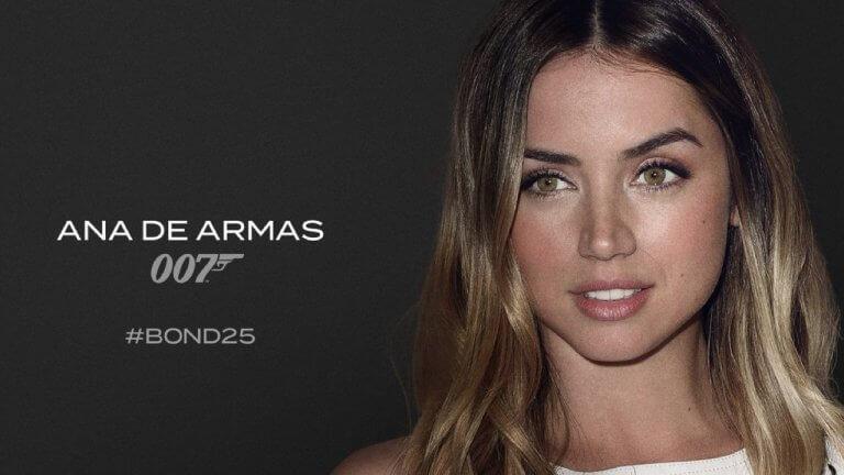 認識《007:生死交戰》全新龐德女郎「普洛瑪」,安娜德哈瑪絲:她很厲害,很美也很真