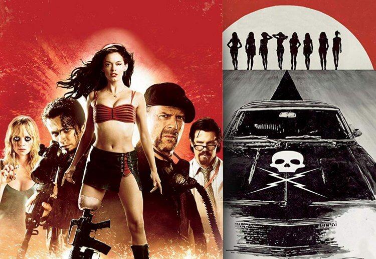 2007 年《刑房》電影包含了昆汀的《不死殺證》(Death Proof) 以及羅勃羅德里茲的《異星戰場》(Planet Terror) 。