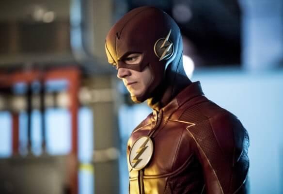 葛蘭高斯汀 (Grant Gustin) 飾演影集版的「閃電俠」(The Flash)