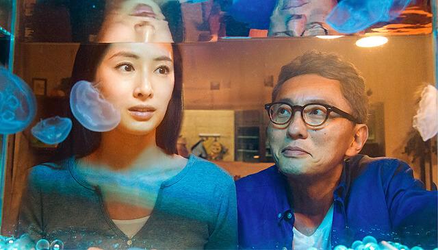 《添好孕》兩位主演:北川景子與松重豐。
