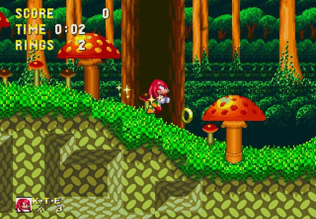1994 年,由 Sega 製作的《音速小子 3》遊戲出現的納克魯斯。
