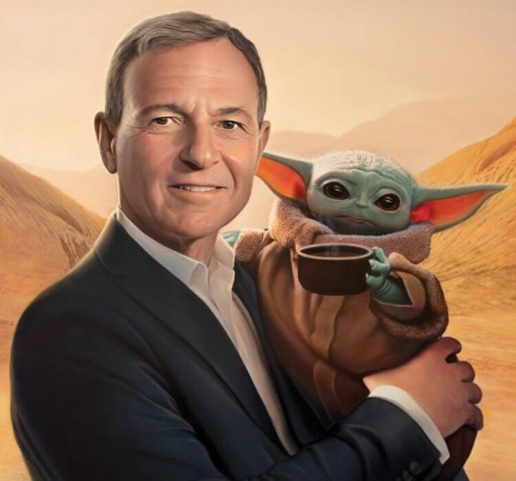 時代雜誌評選迪士尼的執行長勞勃艾格為他們的年度風雲人物。