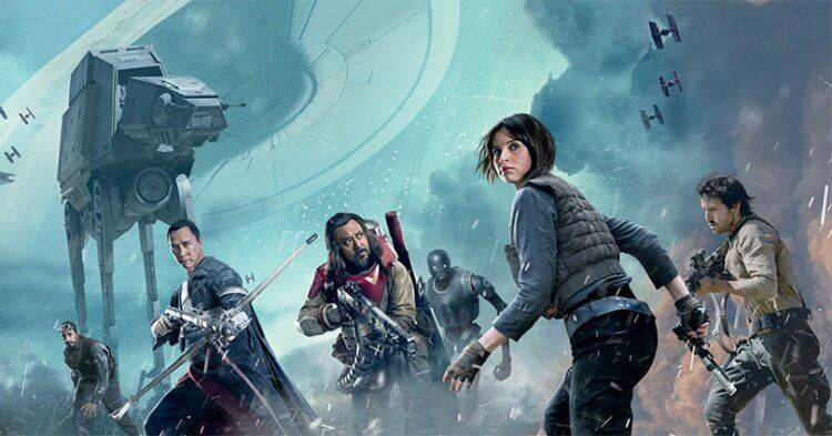 《星際大戰外傳:俠盜一號》講述「俠盜一號」的義勇軍,無畏死亡潛入銀河帝國,奪取死星藍圖的過程。