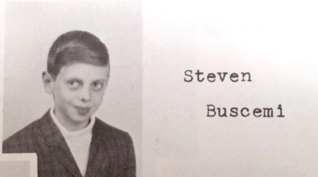 小時候的史蒂夫布希密。