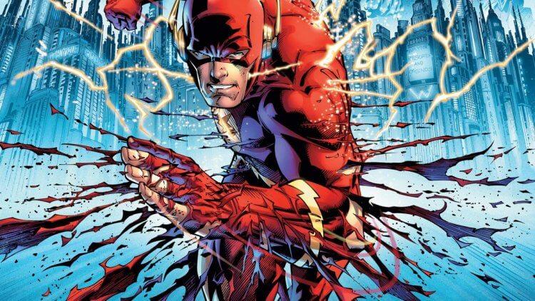 漫畫《閃點》裡的閃電俠。