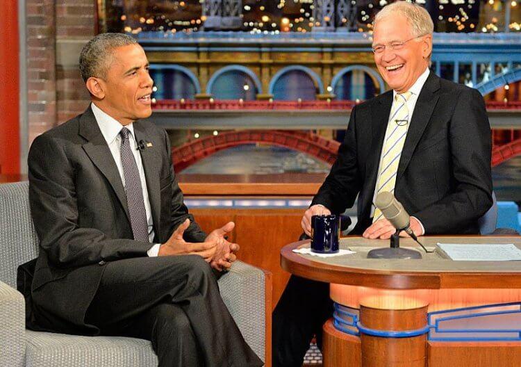大衛萊特曼與他大受歡迎的《晚間秀》(Late show)