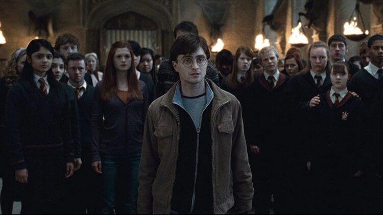 《哈利波特》系列電影。