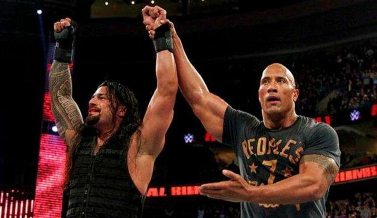 WWE摔角搭檔:巨石與瑞恩斯