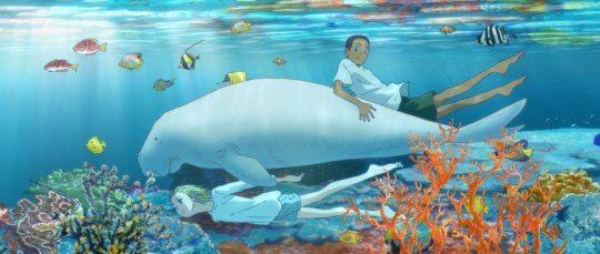 日本動畫電影《海獸之子》劇照。