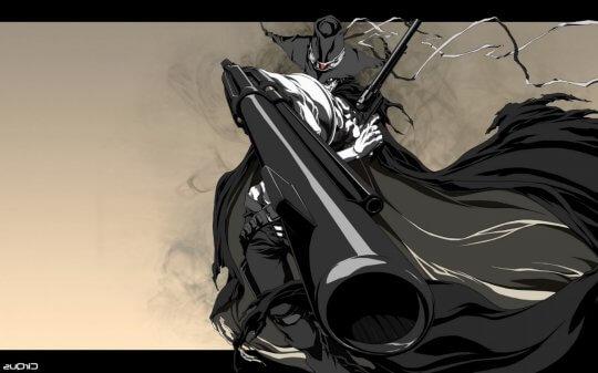 《爆炸頭武士》動畫。