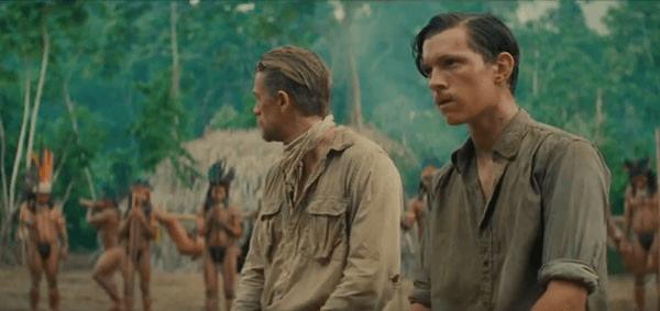 查理漢納與湯姆或蘭德飾演的佛斯特在根據真實故事改編的電影《失落之城》中深入亞馬遜叢林探訪失落國度,但最後消失在密林深處。
