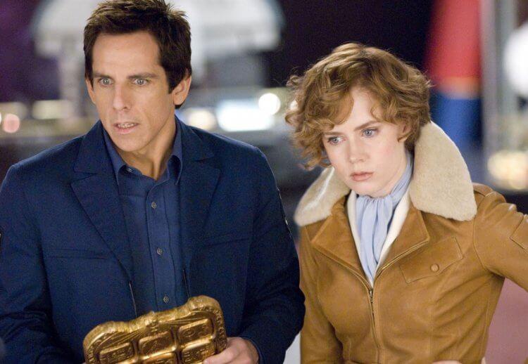 《博物館驚魂夜 2》由班史提勒 (Ben Stiller) 以及艾美亞當斯 (Amy Adams) 主演。
