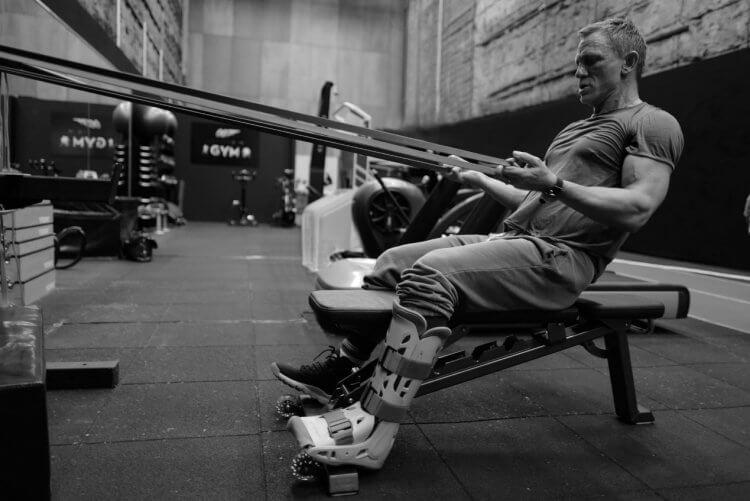 克雷格每次體能訓練都苦不堪言