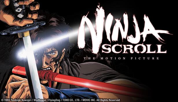 川尻善昭編導的 1993 年動畫電影《獸兵衛忍風帖》曾以《Ninja Scroll》之名在北美發行家用錄影帶並銷售近 50 萬卷,大受喜愛。