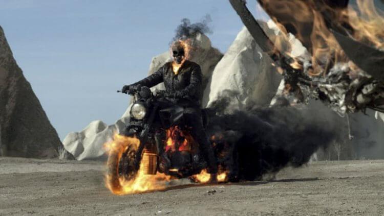 《3D 惡靈戰警:復仇時刻》(Ghost Rider: Spirit of Vengeance) 劇照