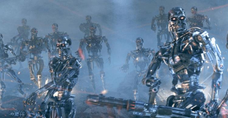 《魔鬼終結者》(The Terminator) 系列。
