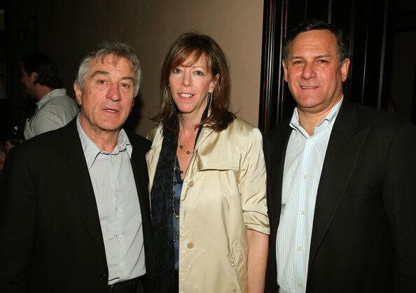 成立紐約翠貝卡電影節的重要推手:勞勃狄尼洛、珍羅森索與克雷格赫考夫。