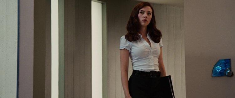 《鋼鐵人 2》的美豔秘書