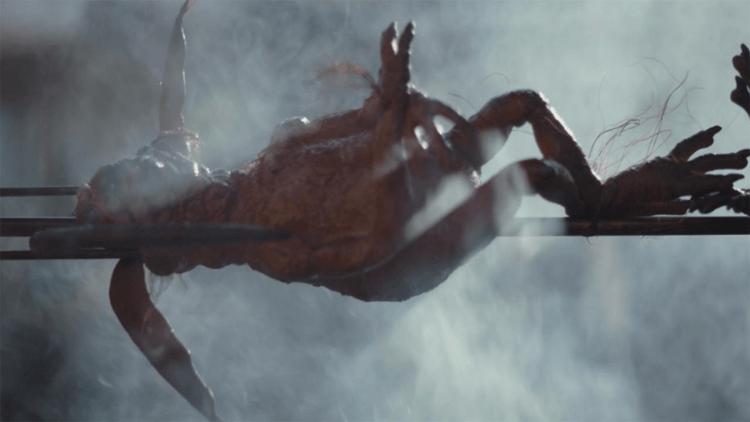 在《星際大戰六部曲:絕地大反攻》出現的柯瓦基猴蜥,在《曼達洛人》中被串烤。