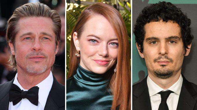 布萊德彼特證實不會出演達米恩查澤雷導演的新片《巴比倫》。
