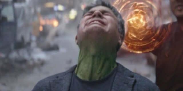 《復仇者聯盟 3:無限之戰》(Avengers: Infinity War) 裡浩克無法變身